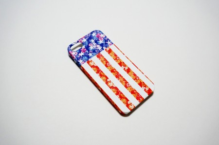 flower usa flag 2 case