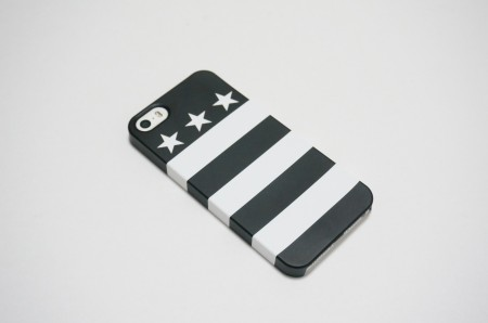 USA flag 03 (black)