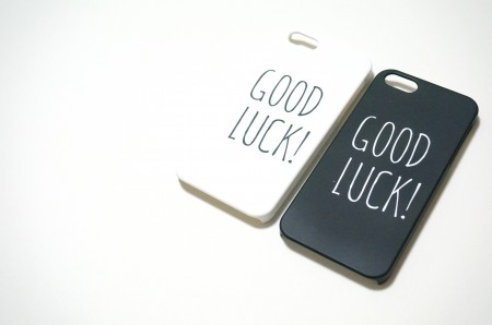 good luck! (2color)