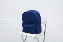 school backpack (deep blue)