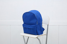 school backpack (blue)