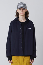 FW17 OVER FIT SHIRT (NAVY)