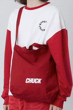 CHUCK LOGO TWO WAY BAG (RED)