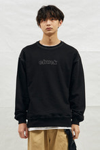 18SS CHUCK STICHING SWEATSHIRT (BLACK)