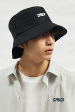 18SS CHUCK LOGO BUCKET HAT (BLACK)