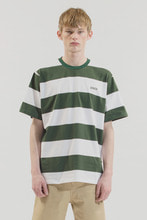 18SS CHUCK STRIPE T-SHIRT (WHITE&GREEN)