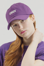 18SS CHUCK LOGO BASEBALL CAP (PURPLE)