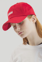 18SS CHUCK LOGO BASEBALL CAP (RED)