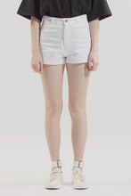 18SS WOMEN SHORT COTTON PANTS (WHITE)