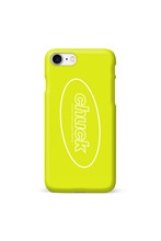 CHUCK OVAL LOGO (NEON YELLOW)