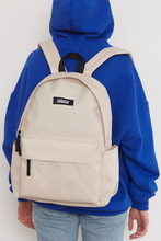 CHUCK LOGO BASIC BACKPACK (BEIGE)