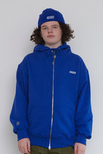 18FW CHUCK LOGO HOOD ZIP UP (BLUE)