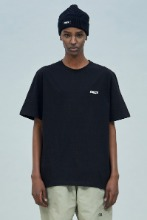 19 SUMMER CHUCK SMALL LOGO T-SHIRT (BLACK)