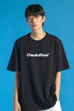 19 SUMMER CHUCKOFFICIAL LOGO T-SHIRT (BLACK)