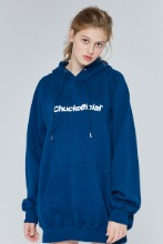 19FW CHUCKOFFICIAL LOGO HOODIE (NAVY PEONY)
