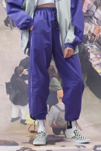 19FW CHUCK RUBBER LABEL PANTS (PURPLE)