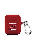 CHUCK THREE LOGO AIRPODS CASE (RED)